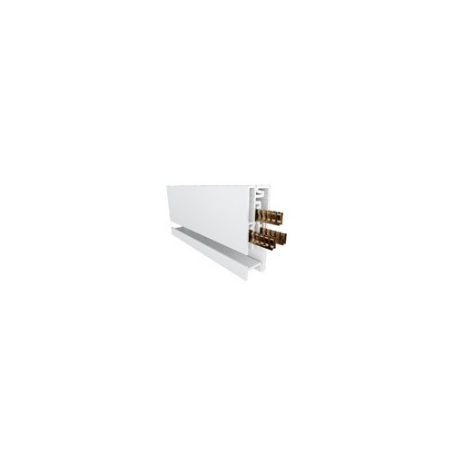 1 x 2mtr Mainline Power Track White