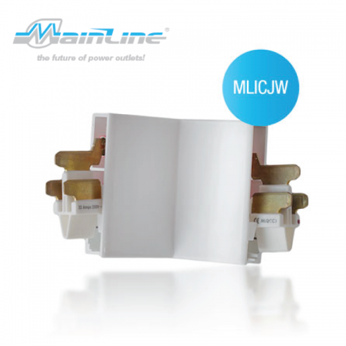 1 x Mainline Internal Corner White