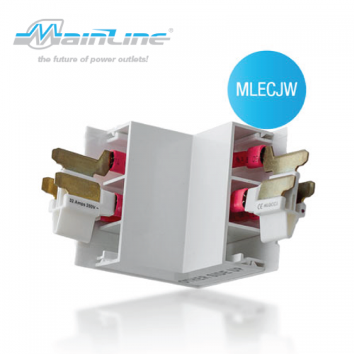 1 x Mainline External Corner White