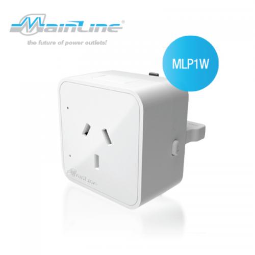 1 x Mainline Premium Australian Socket Outlet White