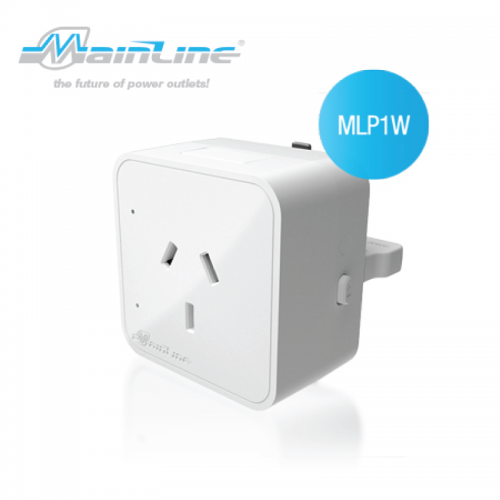 1 x Mainline Australian Socket Outlet White