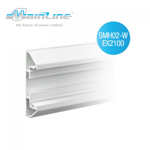 1 x 2mtr Mainline Surface Mounted PVC Trunking