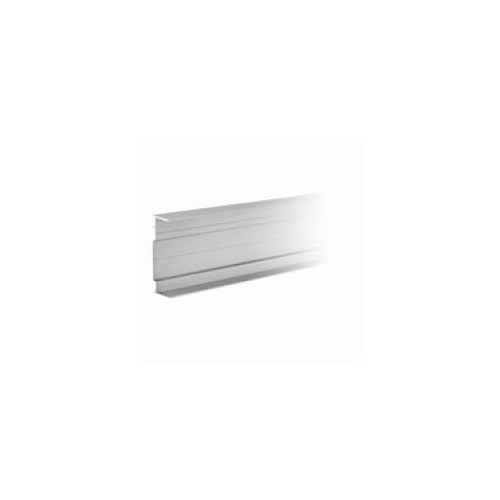 1 x 2mtr Mainline Aluminium Channel Natural Anodised