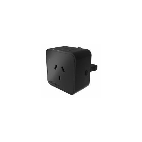 1 x Mainline Australian Socket Outlet Black