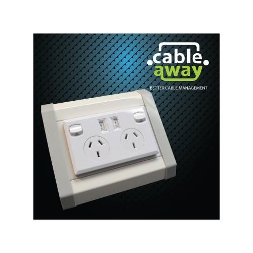 Floor Pedestal Outlets 1 x SGPO 2 X USB