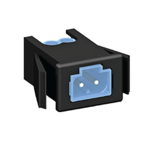 2 Pole Male Panel Mount Connector