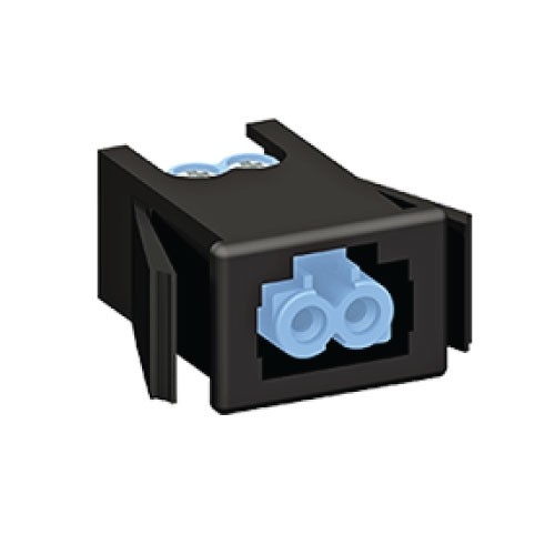 2 Pole Female Panel Mount Connector