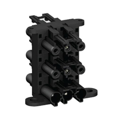 3 Pole Distribution Block 1 in 5 out