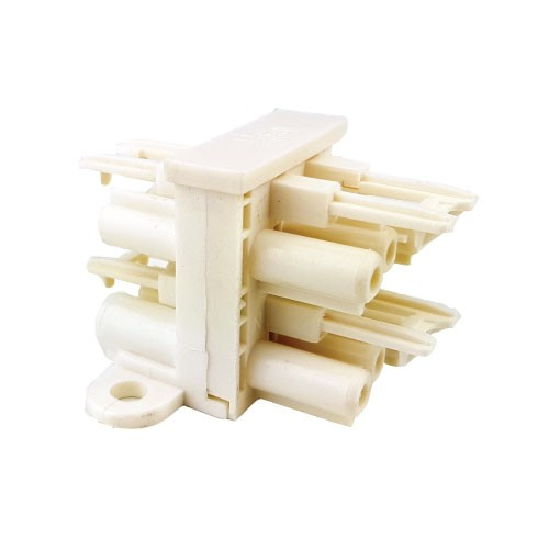 3 Pole Distribution Block 1 in 3 out