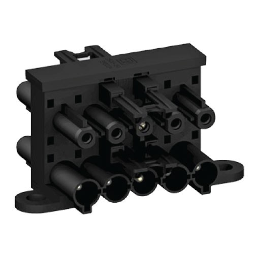 5 Pole Distribution Block 1 in 3 out