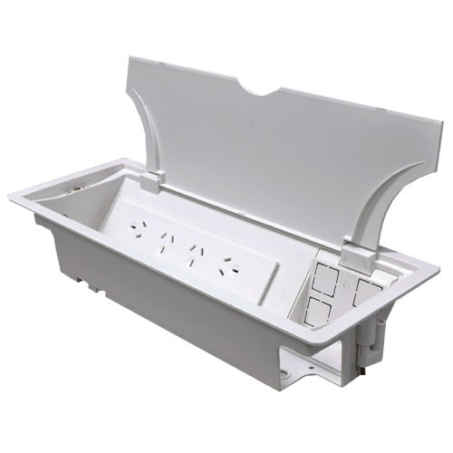 Genie In Desk Table Box Cableaway Pty Ltd - Table outlet box
