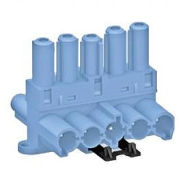 5 Pole Lighting Control Distribution Blocks