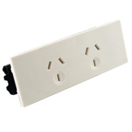 Double GPO Quick Fit Auto Switched Outlet