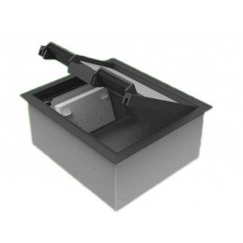 Plastic Lid Floor Outlet Boxes