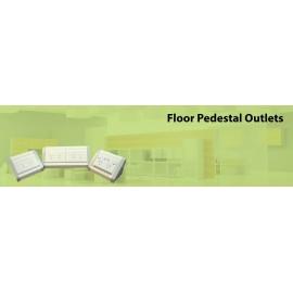 Floor Pedestal Outlets